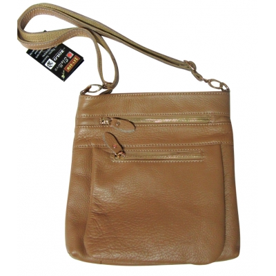 Дамска чанта естествена кожа CRISTI 9007