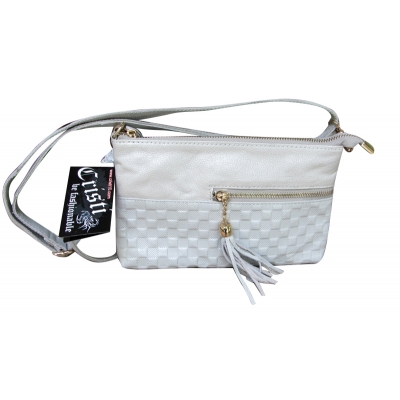 Дамска чанта естествена кожа CRISTI 0485