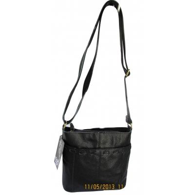 Дамска чанта естествена кожа CRISTI 0736