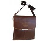 Мъжка чанта GIORGIO ARMANI естествена кожа 6683