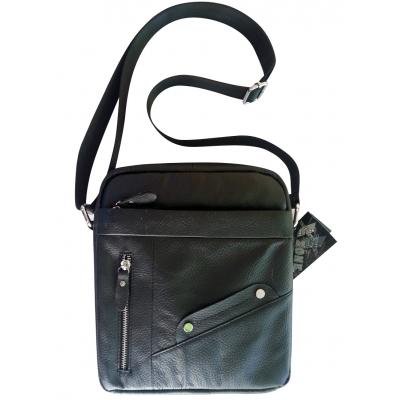 Мъжка чанта естествена кожа   CRISTI 4487