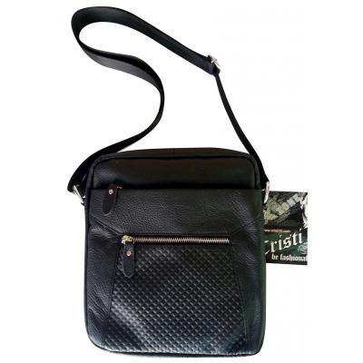 Мъжка чанта oт естествена кожа CRISTI 1481-4487