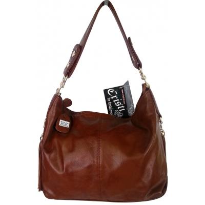 Дамска чанта от естествена кожа  Cristi 9042
