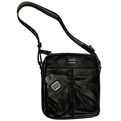 Мъжка чанта естествена кожа BOSS 1300