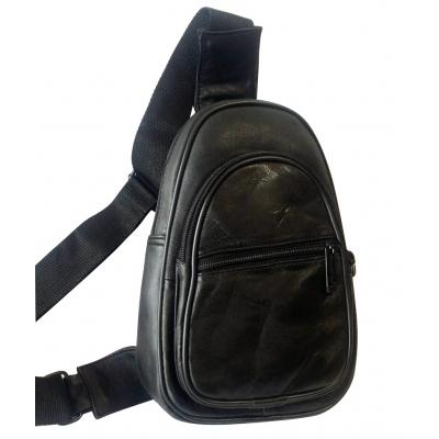 Спортна чанта от естествена кожа CRISTI 408
