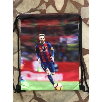 Спортна раница за училище тип мешка Lionel Messi 1232