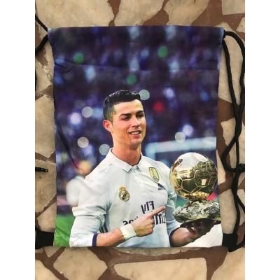 Спортна раница за училище тип мешка Ronaldo 1233