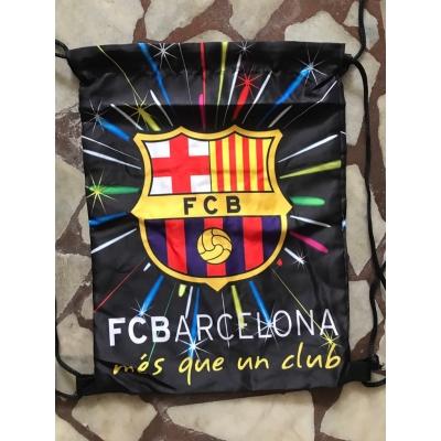 Спортна раница за училище тип мешка Barcelona 1231
