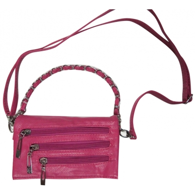 Дамска кожена чанта Cristi 7741