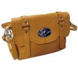 Дамска кожена чанта Cristi 7763