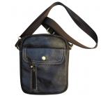Мъжка чанта естествена кожа CRISTI 5518