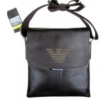 Мъжка чанта GIORGIO ARMANI естествена кожа 6235
